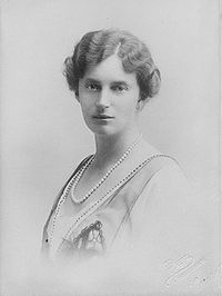 Alexandrine Auguste of Mecklenburg-Schwerin (24 December 1879 – 28 December 1952) was Queen of Denmark as the wife of King Christian X. She was also Queen of Iceland from (1. December 1918 - 17. june 1944)