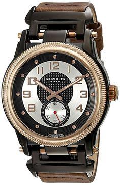 Akribos XXIV Reloj 45 mm Rosa / Marrón-PREFERIDO-1