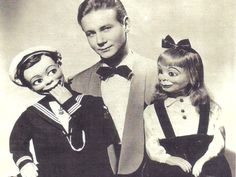 Creepy Vintage Pictures of Ventriloquist Dummies