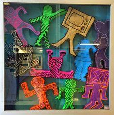 Art. Paper. Scissors. Glue!: Keith Haring Sculptures