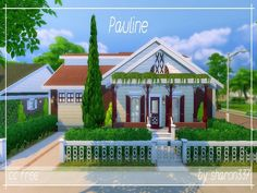 Pauline is a Family home built on a 30 x 20 lot in Newcrest. It has 3 Bedrooms (2 Adult and 1 Child Bedroom), 2 Bathroom, Living Room, Kitchen, Gym and a Garage. In the back garden there is some...