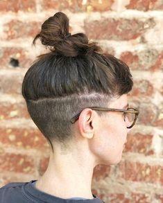 Rustic 360 Undercut Hair By 💇🏻♀️ Undercut Hairstyles Women, Undercut Styles, Undercut Women, Pompadour Hairstyle, Haircuts, Shaved Undercut, Undercut Long Hair, Shaved Hair, Curly Hair Cuts