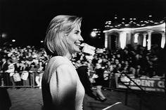 Hillary Clinton at a campaign rally in Balboa Park, San Diego, California, October 16 1996 © Robert McNeely