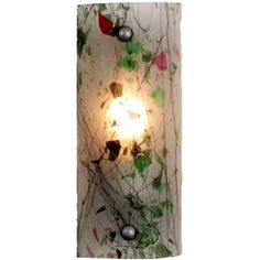 5 Inch W Metro Fusion New Years Eve Wall Sconce - Custom Made