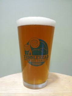 Fiddlehead IPA, Shelburn VT only found on tap.