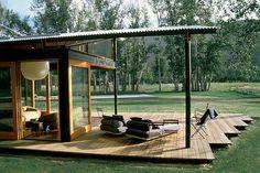 open air patio