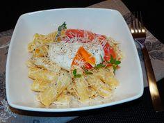 MAKE-FOOD: Rigatoni s parmezánovou omáčkou