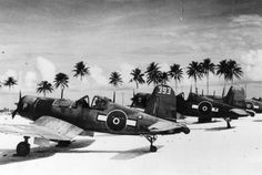 RNZAF Corsairs in the Pacific.
