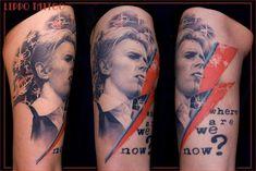 10 Glam Rock David Bowie Tattoos