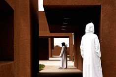 When architecture is created to inspire knowledge it seems like the perfect marriage. One such unity very successfully came about in 2011, when architects Saad El Kabbaj, Driss Kettani & Mohamed Aminesiana, designed the Technology School of Guelmim in Morocco.