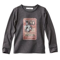 T-shirt manches longues / T-shirt met lange mouwen  #bleucommegris #createur #laredoute