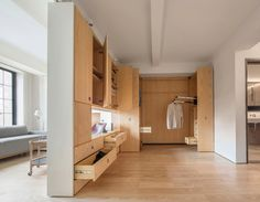 PivotApartment | Residential Architect | Architecture Workshop PC, New York, NY, USA, Single Family, Interiors, Architectural Detail, Bedroom, Kitchen, Living Room, 2016 AIA Honor Awards, 2016 AIA Honor Awards: Interior Architecture, AIA - National Awards 2016, New York-Northern New Jersey-Long Island, NY-NJ-PA