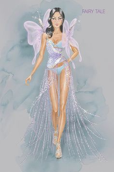 Fairy Tale Bocetos victoria´s secret