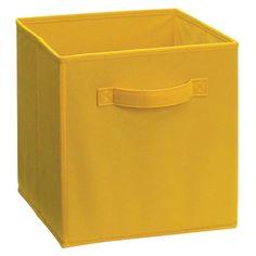 ClosetMaid Decorative Fabric Cube Storage Bin   Graystone Iron Gate |  Storage Cubes, Storage And Apartments