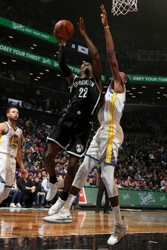 19999d4f2061 Caris LeVert of the Brooklyn Nets shoots the ball against the Golden State  Warriors on October 28 2018 at Barclays Center in Brooklyn New York NOTE.