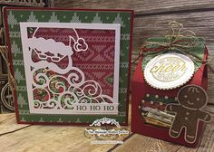 One Stampin' Mother Tucker: Stampin Friends Happy Holidays Blog Hop