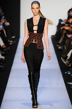 Herve Leger By Max Azria | Fall 2014 Ready-to-Wear Collection | Style.com #NYFW