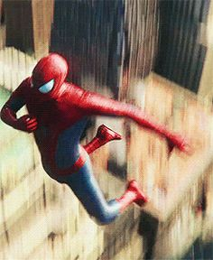Spider-Man cinema flip. Only recently has film technology been able to do the web slinger's agility justice.