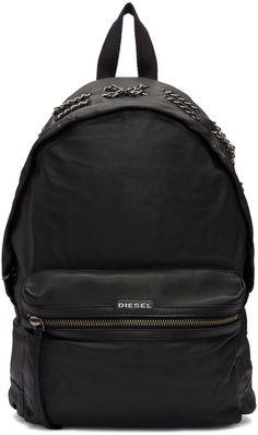 Diesel - Black L-Get Back Backpack