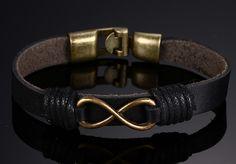 ZORCVENS Hot Sale Alloy Bracelet & Bangles High Quality Genuine Leather Bracelets For Men and Women
