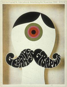 "Gebrauchsgraphik // ""100 ideas that changed graphic design // http://www.theatlantic.com/entertainment/archive/2012/05/100-ideas-that-changed-graphic-design/256876/"