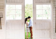 Lavender Farm engagement shoot | photo by Marisa Redfield Photography | 100 Layer Cake