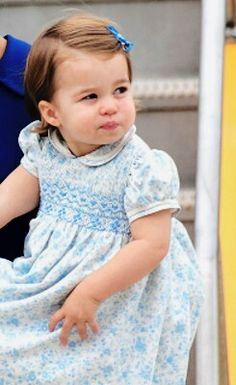 Princess Charlotte of Cambridge in Canada. September 24 2016