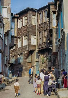 Istanbul 1982 - old town