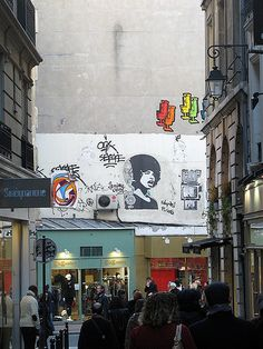 Street Art, Saint-Germain des Pres