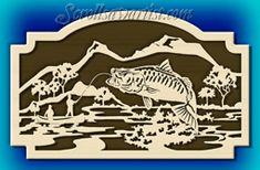 Scroll Saw Patterns :: Nautical/Fish/Fishing -
