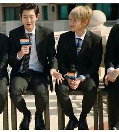 ChanBaek don't be too obvious.#exo #dubai