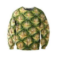 Beneath the rough wall outer wall of a pineapple, there is sweetness. The perfect sweatshirt for you @Cullum