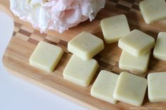 Homemade Lavender Lotion Bars - Pretty Bridal Shower Favors  - Photos