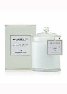 Glasshouse Amalfi Coast Sea Mist Candle