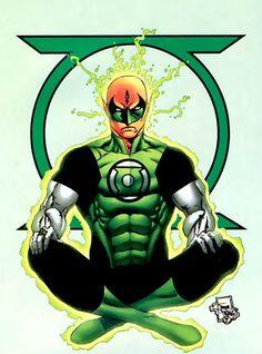 Green Lantern Saarek by Joe Prado