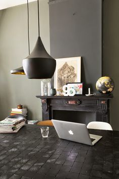on the blog - interesting home in the hague where classic meets vintage and modern... www.homeanddelicious.com