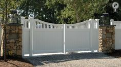 Entry Gates - 126-b Perfection Fence Marshfield