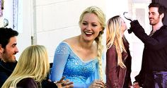 """Once Upon a Time - 4.01 """"A Tale of Two Sisters"""" BTS Pictures ..."""