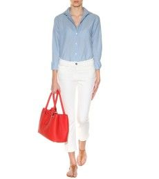 Loro Piana - Kara cotton and linen-blend shirt  - mytheresa.com