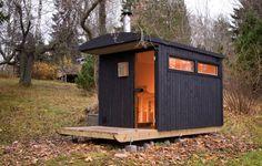DW Sauna Finland by Denizen Works ; Gardenista