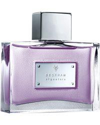 Signature for Him, EdT - från Beckham Lilac, Purple, Lavender, David Beckham, Perfume Bottles, Syringa Vulgaris, Perfume Bottle, Viola