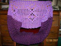 My Crochet Ramblings: Simple Open Diamond Shrug.