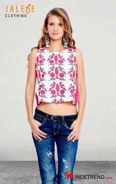 #india #kitsch #bird #clothes #indetrend #jalebeishot #abudabi #pink #white Shop ladies out fits online @ INDETREND.com