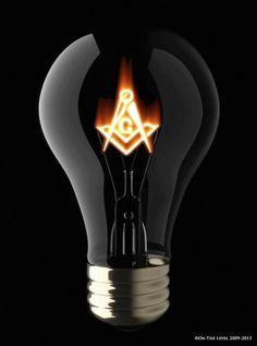 lamp freemason bulb | Masonic | Pinterest | Bulbs, Lamps and Masons