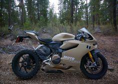 Ducati 1199 Panigale TerraCorsa Off-Road Superbike 4... PLEASE!