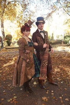 Cutest Matching Steampunk Couple, EVER