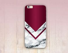Burgundy Marble Print Phone Case   iPhone 6 Case  by CRCases #Iphone4Cases