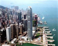 10º.  412 m: Two International Finance Center - Hong Kong, China.