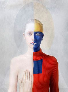 Katerina Belkina | title: For Malevich | series: Paint | 2006 | 84 x 120 cm | edition 8