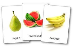 Imagier des fruits à imprimer Image Fruit, Around The World Theme, French Worksheets, Fruits Images, French Resources, Teaching French, French Language, Learn French, Fruits And Vegetables